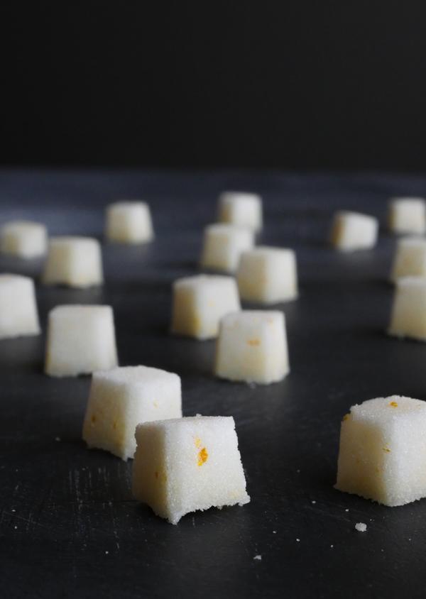 Make It: Meyer Lemon Citrus Sugar Cubes for Cocktails // stirandstrain.com