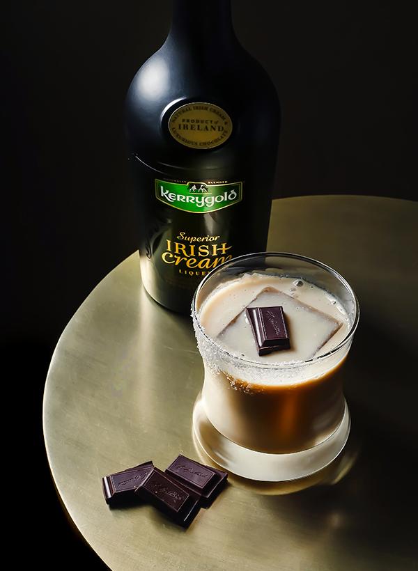 Kerrygold Chocolate Margarita // stirandstrain.com