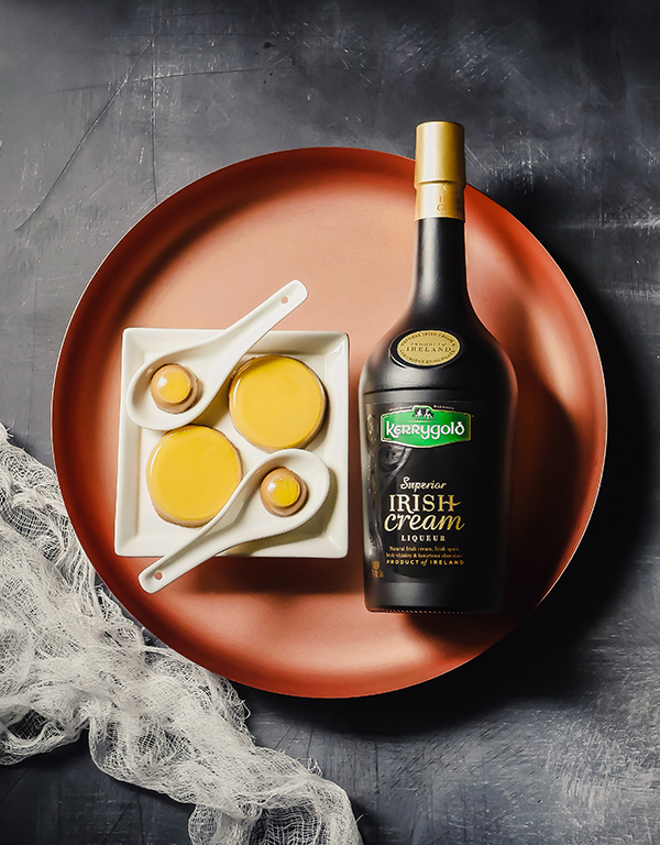 Kerrygold Irish Cream Passion Fruit Jellies // stirandstrain.com