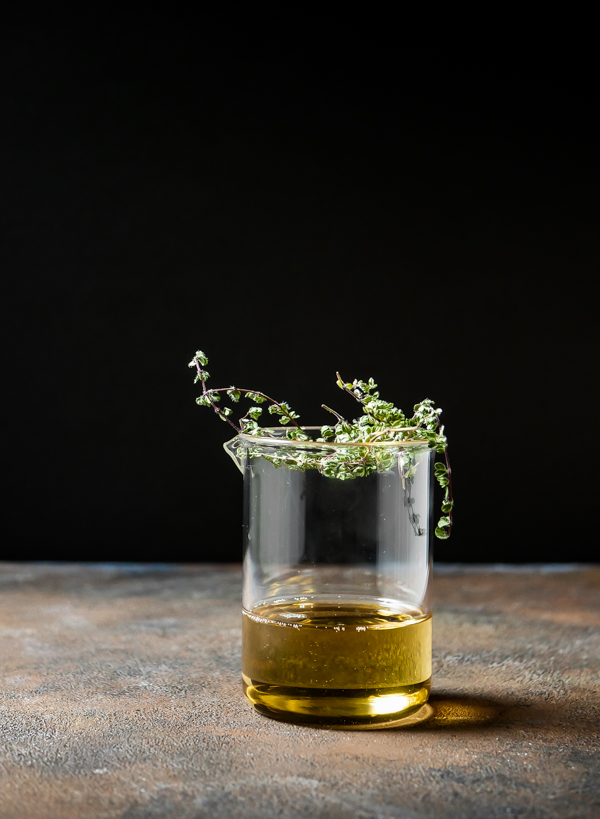Coconut Thyme Cocktail and Creating a Cocktail Garden // stirandstrain.com