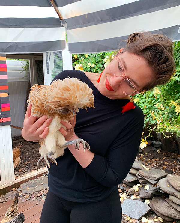 Monday Booze News: just me and the chickens // stirandstrain.com