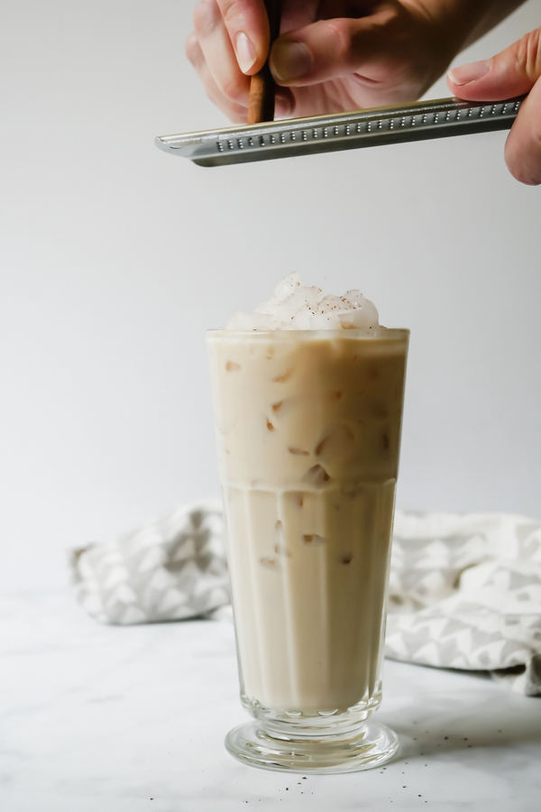 Kerrygold Irish Cream Spiked Horchata // stirandstrain.com