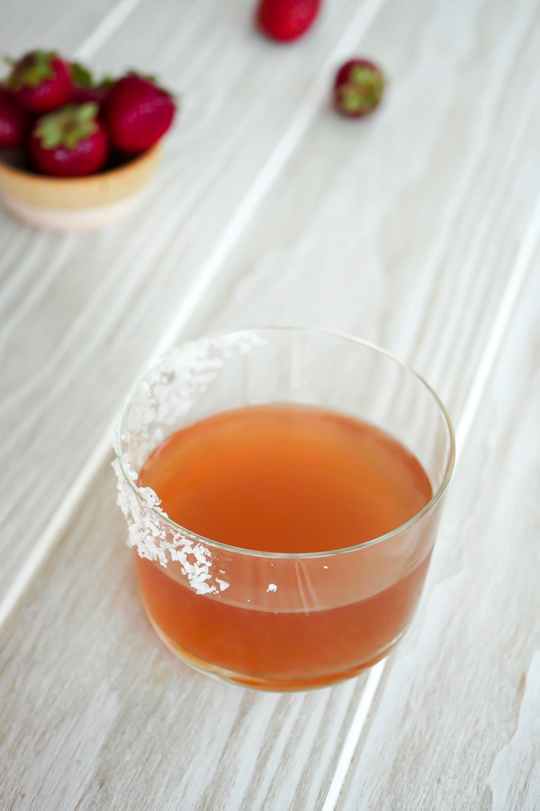 Make or Buy: Strawberry Liqueur // stirandstrain.com