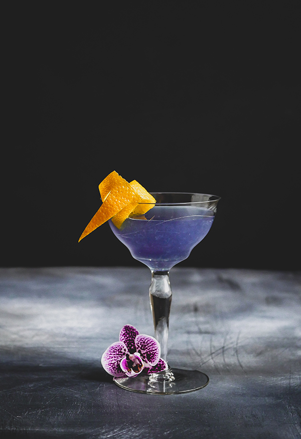 The Water Lily Cocktail // stirandstrain.com