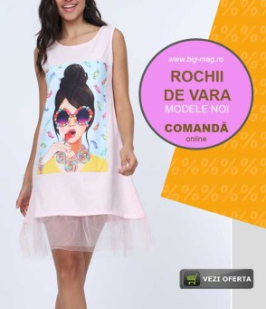 Rochii Bumbac de Vara Magazin Big Mag