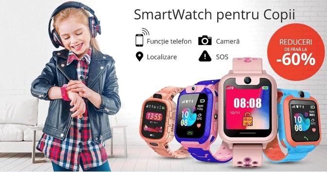 ceasuri smart copii magazin big mag