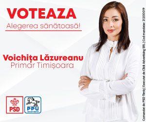 Voichița Lăzureanu - 300x250px
