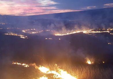 Pompierii au participat la 8 intervenții ce au presupus stingerea incendiilor