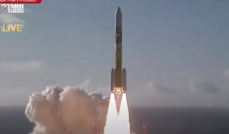 Prima misiune spațială arabă spre Marte a fost lansată cu succes din Japonia