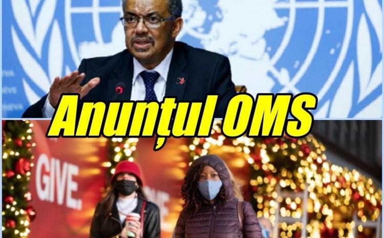 Crăciun și Revelion în pandemie. Sfaturi de la Organizația Mondială a Sănătății