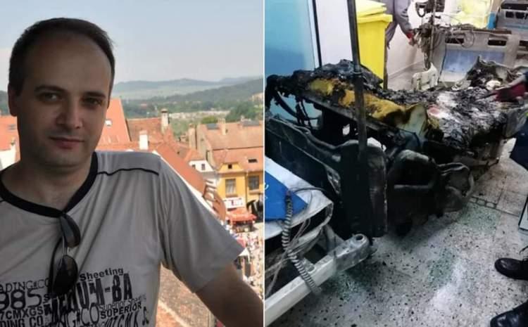 Medicul Cătălin Denciu, rănit în incendiul de la Spitalul Piatra Neamţ, e printre eroii lumii care au marcat anul 2020
