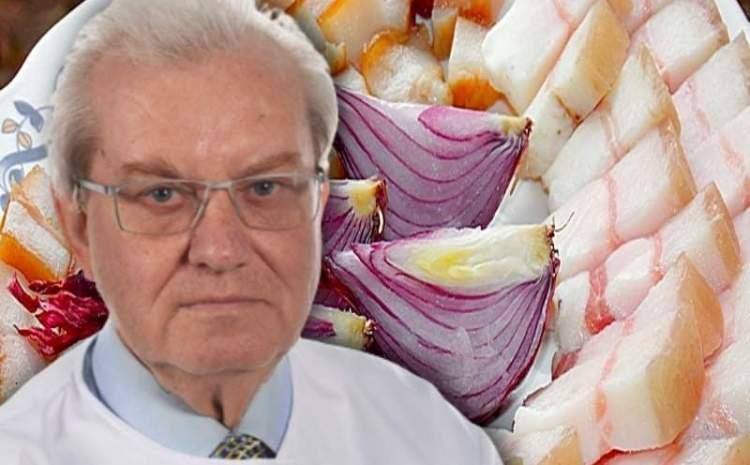 ADEVARUL despre slanina de porc. Gheorghe Mencinicopschi spulbera acest mit alimentar