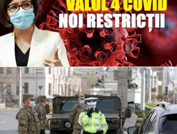 Ministrul Sănătății, anunț trist cu privire la valul patru al pandemiei. Ce noi restricții vor fi introduse