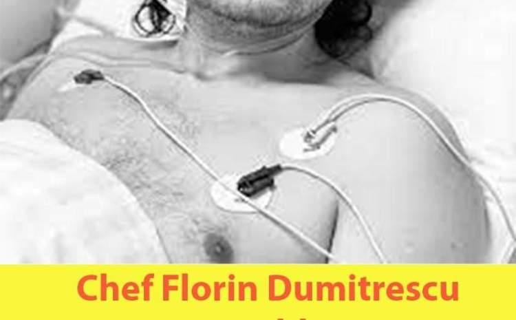 CHEF FLORIN DUMITRESCU ARE PROBLEME DE SĂNĂTATE. BUCĂTARUL SE PREGĂTEȘTE DE OPERAȚIE