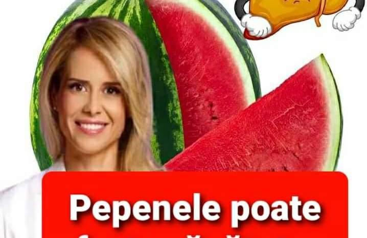 TU stiai asta ? Mihaela Bilic avertizează: Pepenele roșu poate afecta ficatul