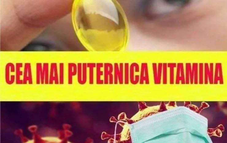Vitamina care întărește sistemul imunitar