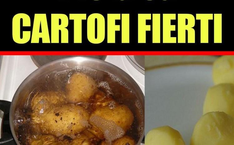 Dieta rapidă cu cartofi fierți. Slăbești 5 kilograme în 3 zile