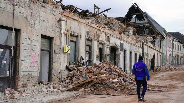 Cutremur Croatia 28 decembrie 2020