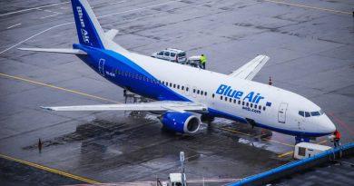 Blue Air desfășoara campania Valentine Sale, oferind 2 bilete la preț de 1