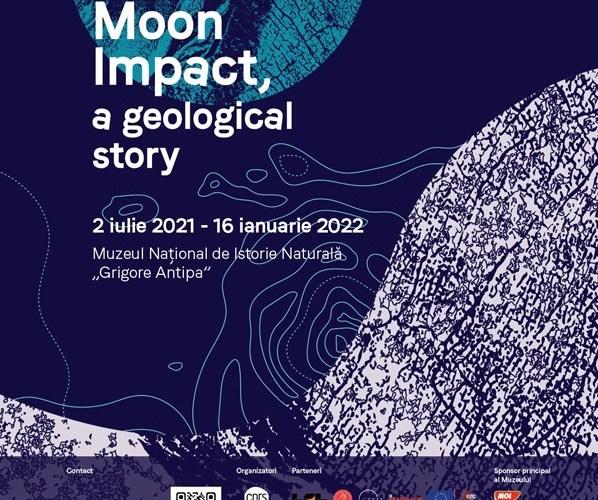 """Muzeul Național de Istorie Naturală """"Grigore Antipa""""anunță deschiderea expoziției """"Moon Impact – a geological story"""""""