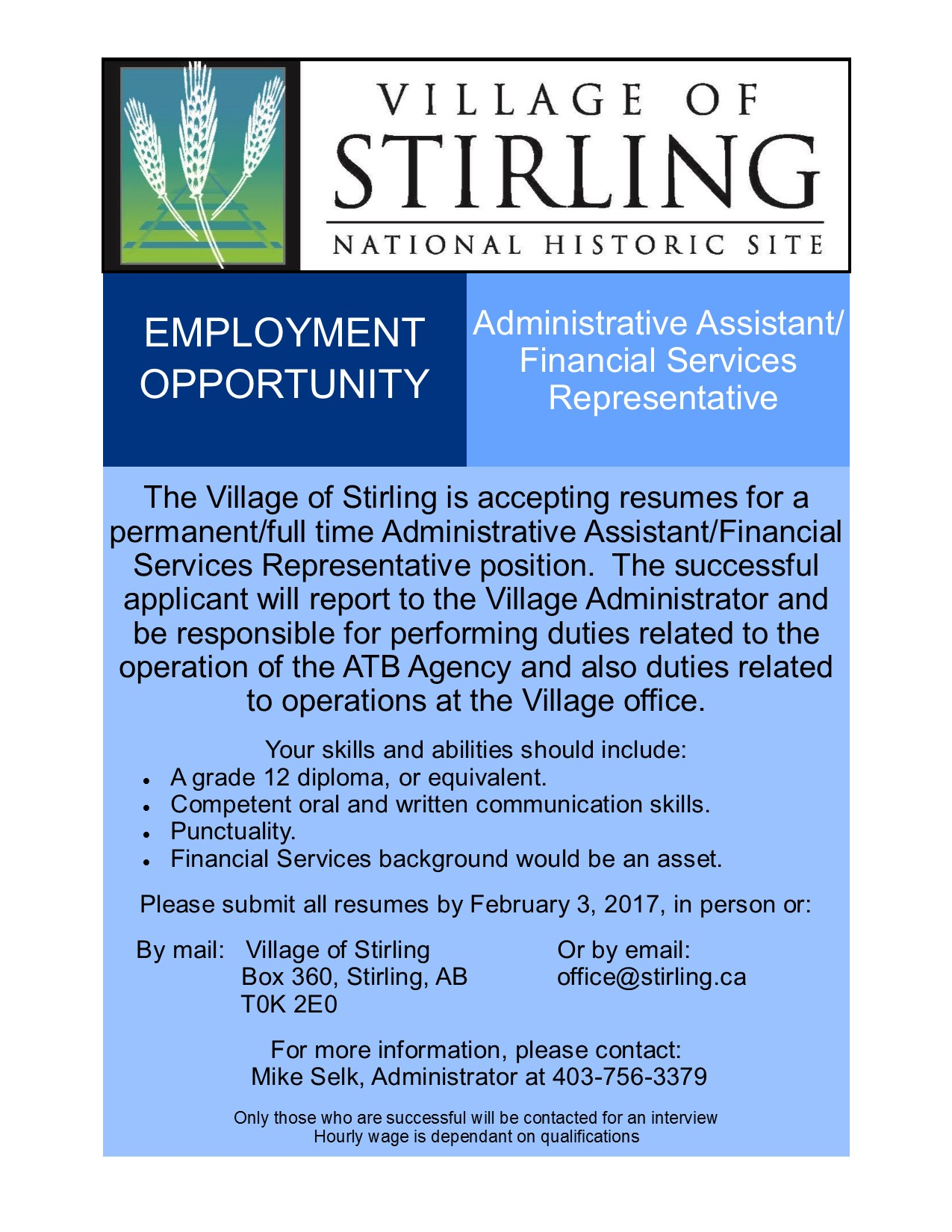 financial administrative assistant resumes
