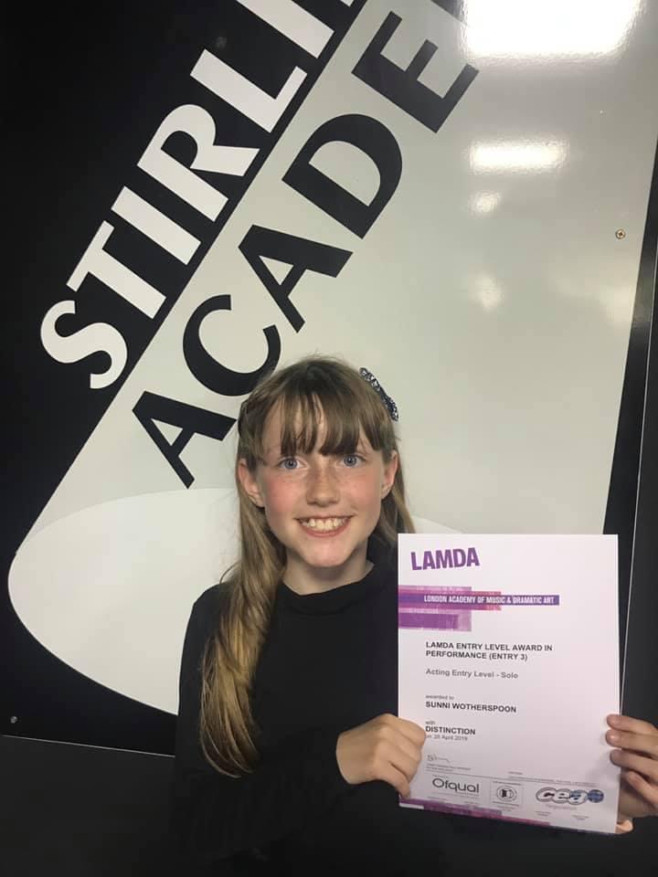 Drama classes LAMDA result