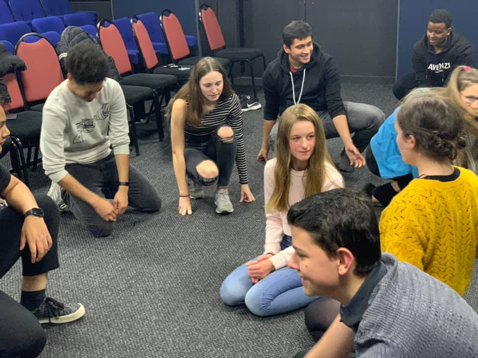 Drama classes - working together