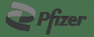 Pfizer Logo - Grey