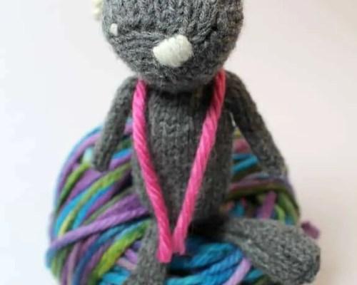 Knit Stitch Front