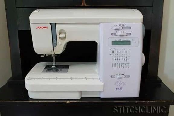 Janome 6125 sewing machine - Good beginner machine