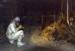 The-Elephants-Foot-of-the-Chernobyl-disaster-1986-1