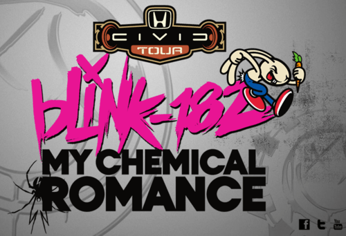 Blink 182 announces summer tour with My Chemical Romance
