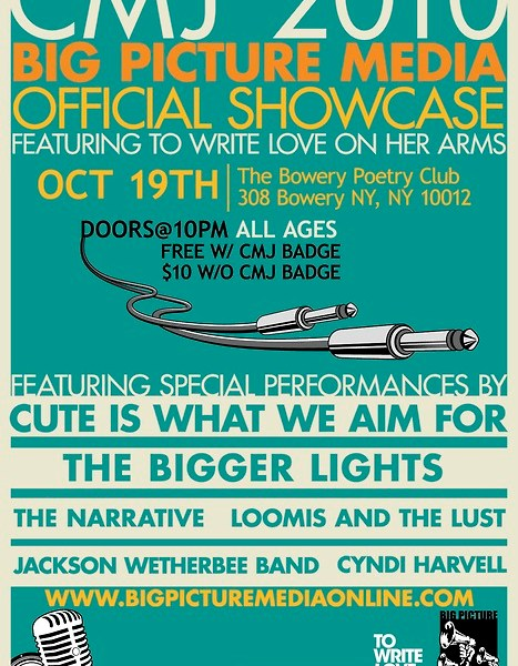 CMJ 2010 showcase