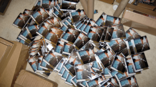 FREE PHYSICAL COPIES OF BARELY BLIND'S 'MY LIFE WITH A GIANT'