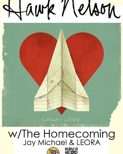 The Homecoming to play a show with Hawk Nelson