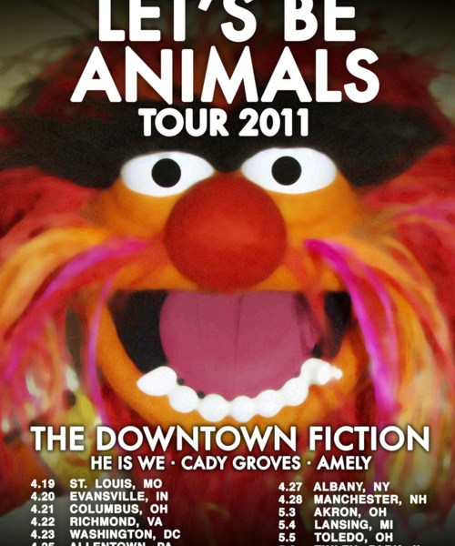 Let's Be Animals Tour
