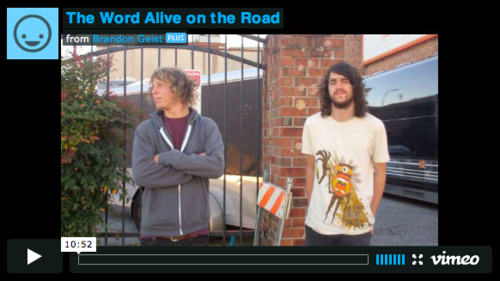 The Word Alive Tour Update