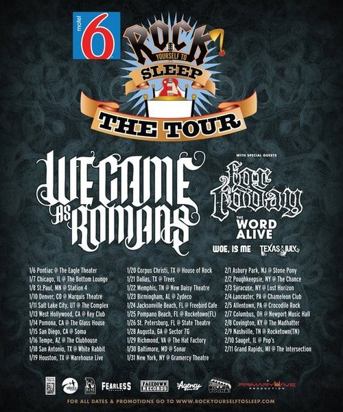 We Came As Romans announce headlining tour