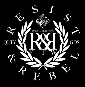 Resist & Rebel Clothing Line announced