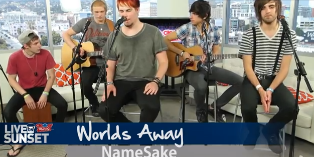 Namesake acoustic video and interview