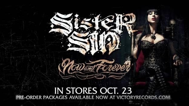 Sister Sin new album teaser