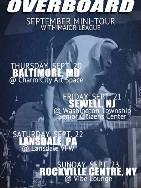 Man Overboard announce east coast tour dates