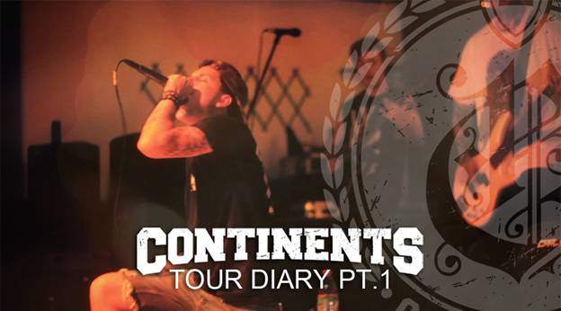 Continents release new tour diary