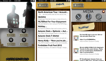 Autumn Owls release new App