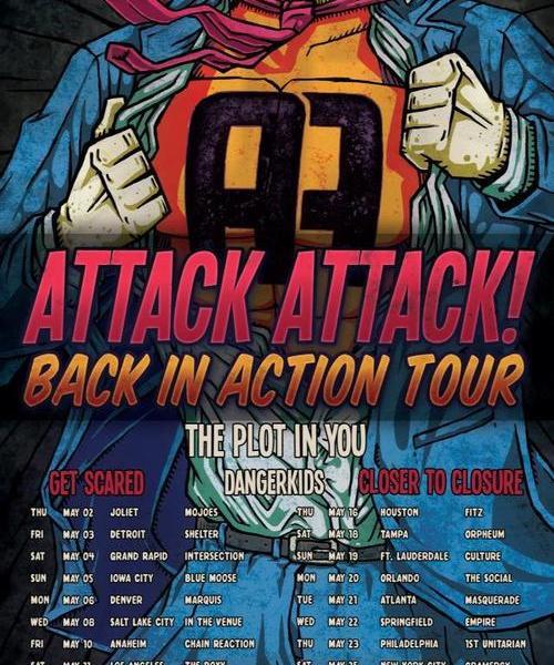 Attack Attack! New Tour