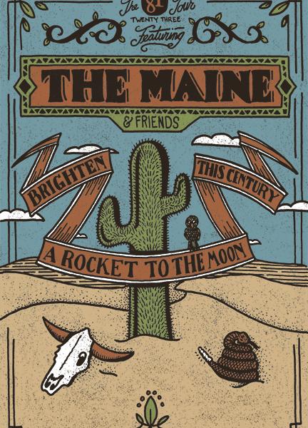 The Maine Announces New Headlining Tour