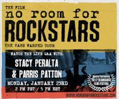 No Room For Rockstars Warped Tour Update
