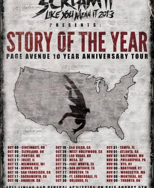 2013 Scream It Like You Mean It Tour Announced