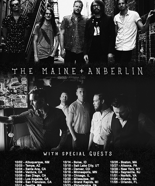 Lydia To Support The Maine + Anberlin Tour