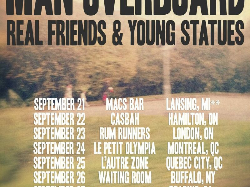 Man Overboard announce Eastern Canadian and American tour